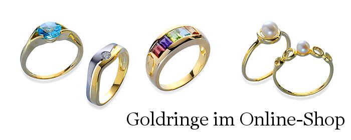 Goldringe 333er 585er 750er