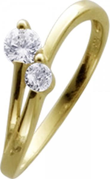 Ring in Gelbgold 333/- schmale elegante ...