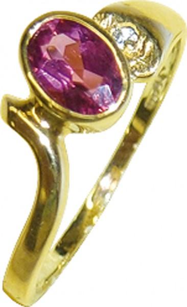 Wunderschöner Ring in Gelbgold 333/- po...