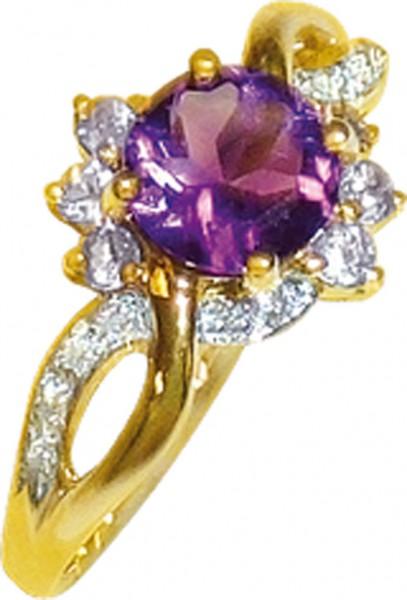 Dieser wunderschöner Ring aus Gelbgold ...