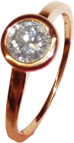 hochwertiger Diamant Ring in feinem Rose...