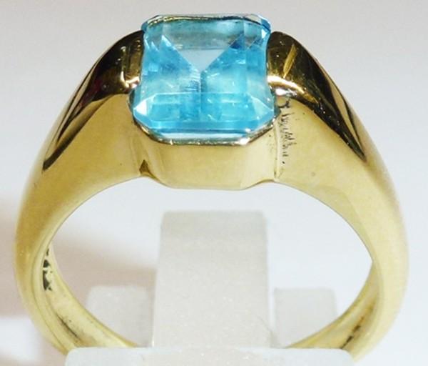 Märchenhafter Ring in Gelbgold 750/-, p...