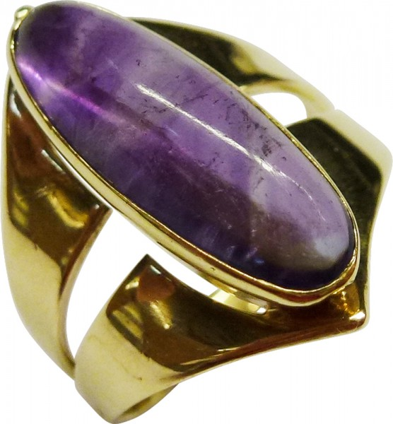 Glamouröser Ring in 750/- Weißgold, ma...