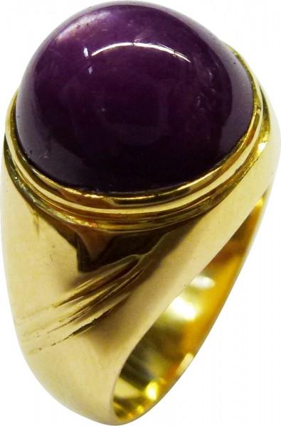 Ring in feinem Gelbgold 585/-, poliert, ...