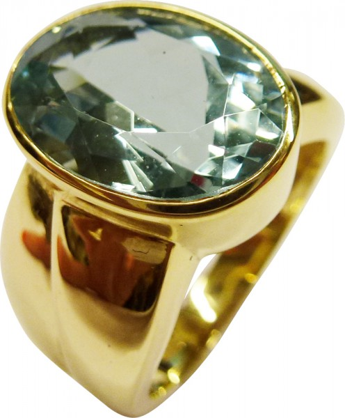 Eleganter Ring in feinem Gelbgold 585/-,...