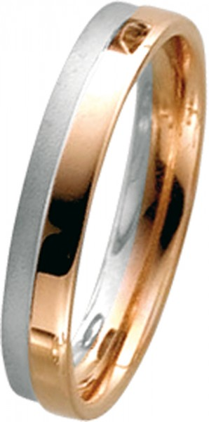 Ring in Rosegold 585/- Weißgold 585/-, ...