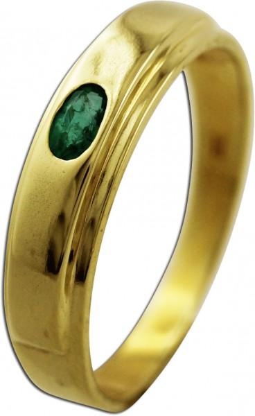 Goldring – Edelsteinring Gelbgold ...