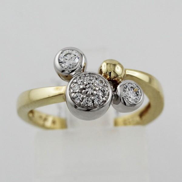 Designerring – Goldring Gelbgold/ ...
