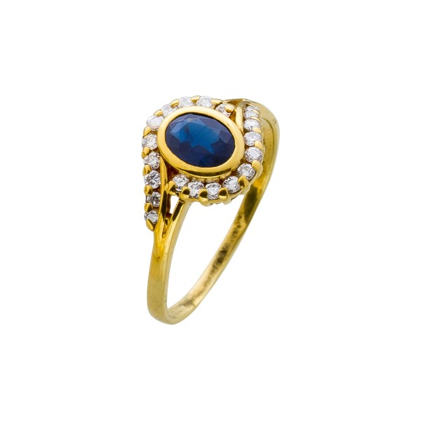 Ring – Brillantring Gelbgold 585 S...
