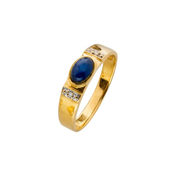 Ring – Diamantring Gelbgold 585 Sa...