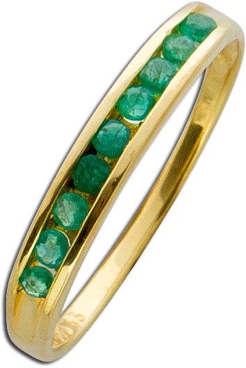 Ring – Edelsteinring Gelbgold 585 ...