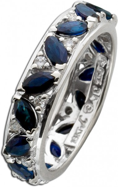 Ring – Memoirering Weißgold 750 1...
