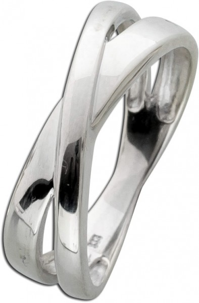 Designer Ring Weißgold 333 Wirkung von ...
