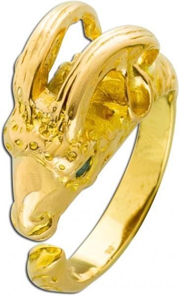 Ring Widder Rosegold 585 Widder als Rink...