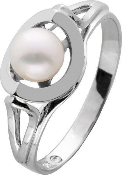 Antiker Akoyaperlring 60er Jahre Perlenlustre rose Japanischer Akoyazuchtperle Weissgold 585 Perlenschmuck