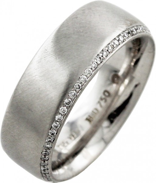 Diamant Ring Weißgold 750 massiv Heinri...