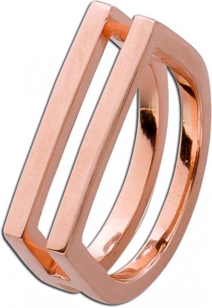 Ring Sterling Silber 925 Rose vergoldet ...
