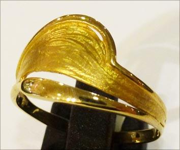 Goldring 18,5 mm aus feinem Gelbgold 333...