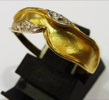 Goldring 18,0 mm aus feinem Gelbgold 333...