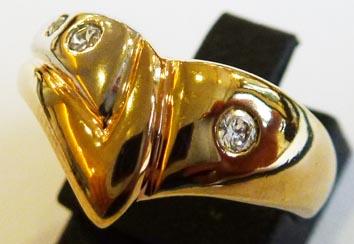 Goldring im exklusiven Design in Größe...