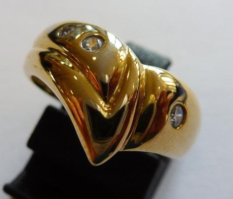 Goldring im absoluten Topdesign in Grö�...