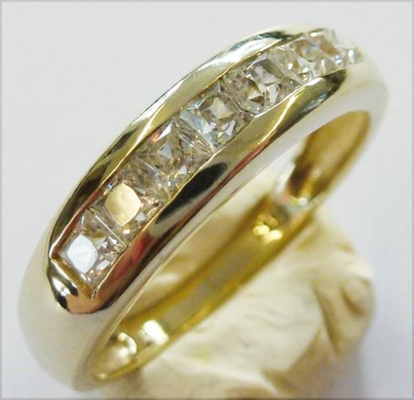 Ring 18,0 mm aus Gelbgold 333/- (8 Karat...
