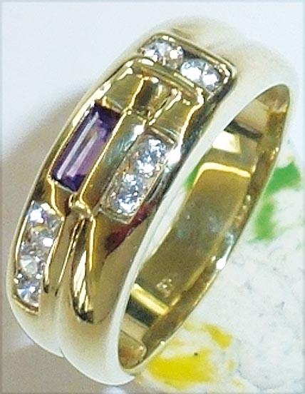 Wunderschöner Ring aus Gelbgold 333/- (...