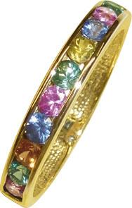 Goldring, verspielter Ring in hochwertig...